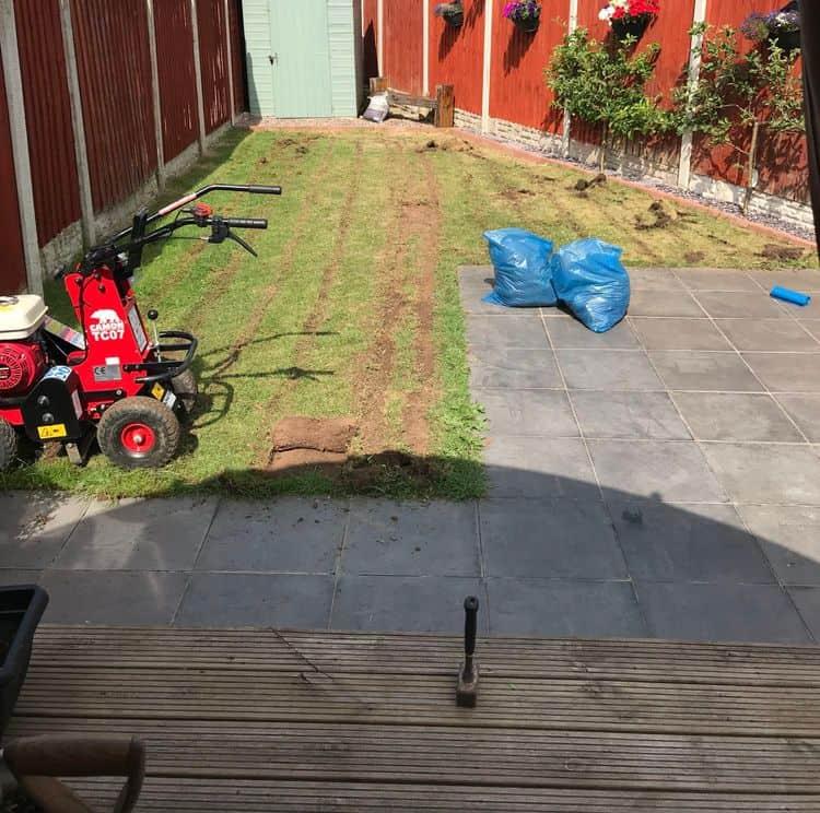 Remove grass