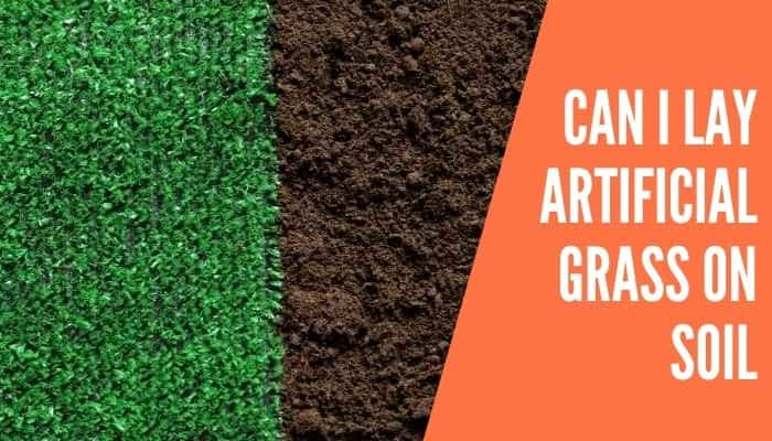 Can I Lay Artificial Grass on Soil