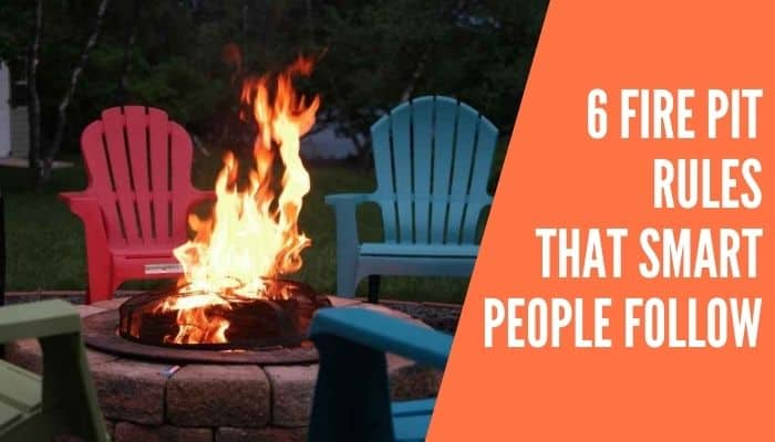 Fire Pit Rules